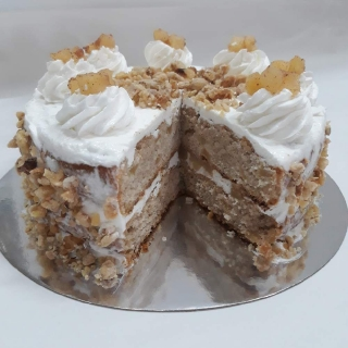 Apple Crumble Cake (Vegan and Gluten free)