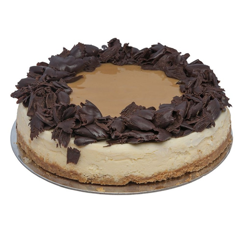 Choc-Caramel New York GF Cheesecake